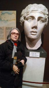 Julene with Sappho
