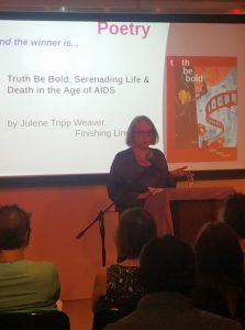Julene wins Bi Book Award